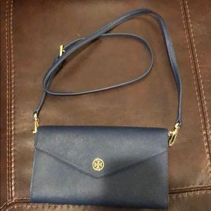 Tory Burch navy cross body